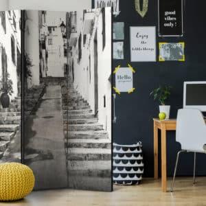 3-teiliges Paravent – Altea Old Town [Room Dividers]