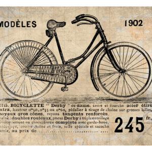 Fototapete – Old School Bicycle