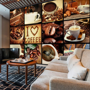 Fototapete – Coffee Collage