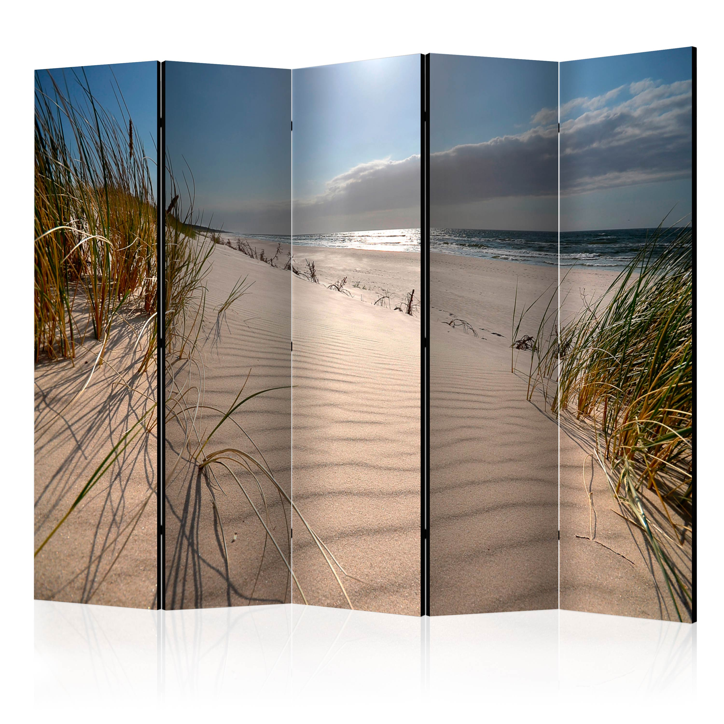 5 Teiliges Paravent Beach In Mrzezyno Ii Room Dividers